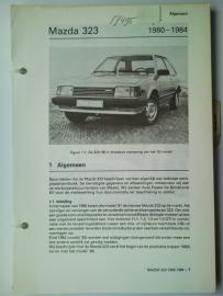 Mazda 323  Vraagbaak ATH 80-84 #1 Nederlands