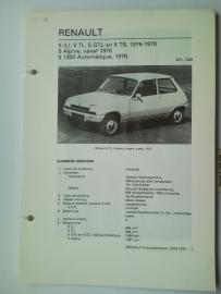 Renault 5  Vraagbaak ATH 76-78 #2 Nederlands