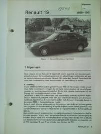 Renault 19  Vraagbaak ATH 88-91 #2 Nederlands