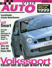 1999 Autovisie NR 01 tijdschrift