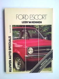Ford Escort  Leer 'm kennen 74-75 #1 Nederlands