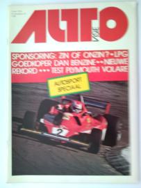 1976 Autovisie NR 08 tijdschrift