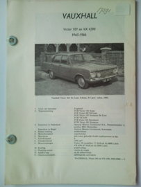 Vauxhall Victor 101 VX 4l90  Vraagbaak ATH 65-66 #2 Nederlands