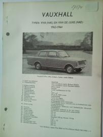 Vauxhall Viva  Vraagbaak ATH 63-64 #1 Nederlands