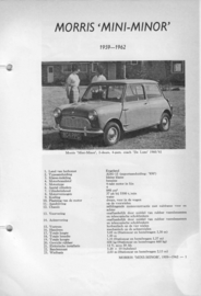 Morris Mini Minor  Vraagbaak ATH 59-62 #3 Nederlands