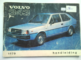 Volvo 343  Instructieboekje 79 #2 Nederlands