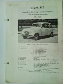 Renault R3 R4  Vraagbaak ATH 61-65 #2 Nederlands