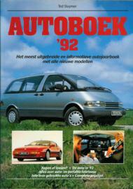 Autoboek   Jaarboek 1992 #2 Nederlands