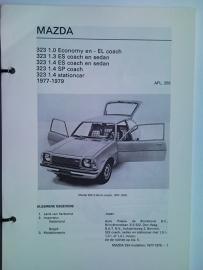 Mazda 323  Vraagbaak ATH 77-79 #1 Nederlands