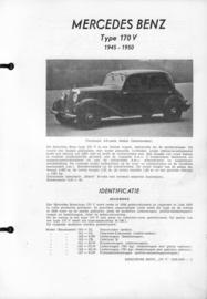 Mercedes-Benz Type 170 V  Vraagbaak ATH 45-50 #1 Nederlands