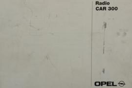 Opel Radio CAR 300  Instructieboekje 96 #2 Nederlands