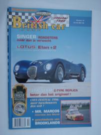 Britich Car Magazine  1996 NR 10 Tijdschrift  #1 Nederlands