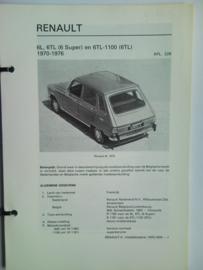 Renault 6  Vraagbaak ATH 70-76 #1 Nederlands