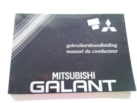 Mitsubishi Galant  Instructieboekje 88 #1 Nederlands Frans
