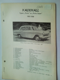 Vauxhall Victor Victor Super  Vraagbaak ATH 57-58 #2 Nederlands