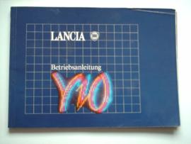 Lancia Y10  Instructieboekje 90 #1 Duits