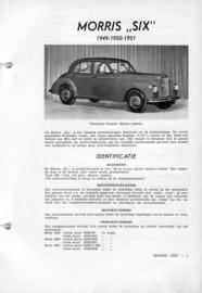 Morris SIX  Vraagbaak ATH 49-51 #1 Nederlands