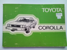 Toyota Corolla  Instructieboekje 80 #2 Nederlands