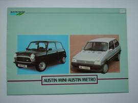 Austin Metro  Brochure 83 #1 Nederlands