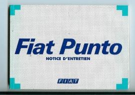 Fiat Punto  Instructieboekje 98 #1 Frans