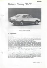 Datsun Cherry  Vraagbaak ATH 79-81 #1 Nederlands