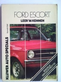 Ford Escort  Leer 'm kennen 74-77 #1 Nederlands
