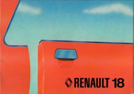 Renault 18  Instructieboekje 79 #4 Nederlands