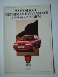 Rover 200  Brochure 88 #4 Nederlands