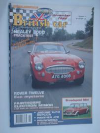 Britich Car Magazine  1996 NR 11 Tijdschrift  #1 Nederlands