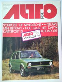 Autovisie   Tijdschrift 1975 NR 16 #1 Nederlands
