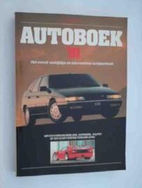 Autoboek   Jaarboek 1991 #5 Nederlands