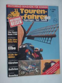 Touren-Farher Tijdschrift 1994 NR 07 Juli #1 Duits