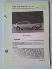 Alfa Romeo Alfasud   Vraagbaak ATH 78 #1 Nederlands