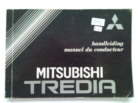 Mitsubishi Tredia  Instructieboekje 82 #1 Nederlands Frans