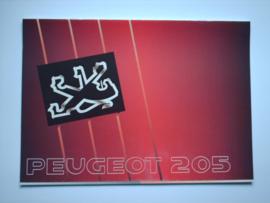 Peugeot 205  Brochure 90 #2 Nederlands