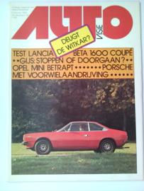 Autovisie   Tijdschrift 1975 NR 23 #1 Nederlands