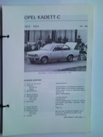 Opel Kadett C  Vraagbaak ATH 73-74 #3 Nederlands