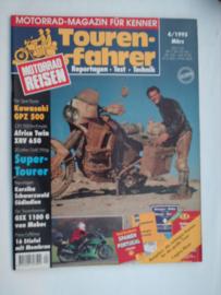 Touren-Farher Tijdschrift 1995 NR 4 Maart #1 Duits