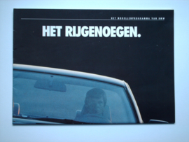 BMW Programma  Brochure 88 #1 Nederlands