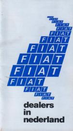Fiat   Dealerlijst 84 #1 Nederlands