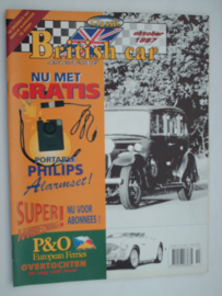 Britich Car Magazine  1997 NR 10 Tijdschrift  #1 Nederlands