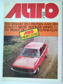 1976 Autovisie NR 09 tijdschrift