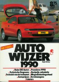 Auto Wijzer   Jaarboek 1990 #1 Nederlands
