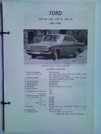 Ford Taunus  Vraagbaak ATH 67-69 #1 Nederlands
