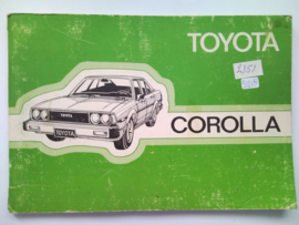 Toyota Corolla  Instructieboekje 80 #1 Nederlands