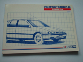 Nissan Primera  Instructieboekje 91 #1 Nederlands