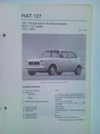 Fiat 127  Vraagbaak ATH 71-75 #1 Nederlands