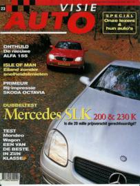 1996 Autovisie NR 23 tijdschrift