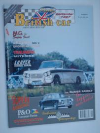 Britich Car Magazine  1997 NR 09 Tijdschrift  #1 Nederlands