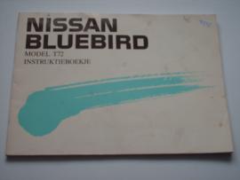 Nissan Bluebird T72 Instructieboekje 88 #1 Nederlands